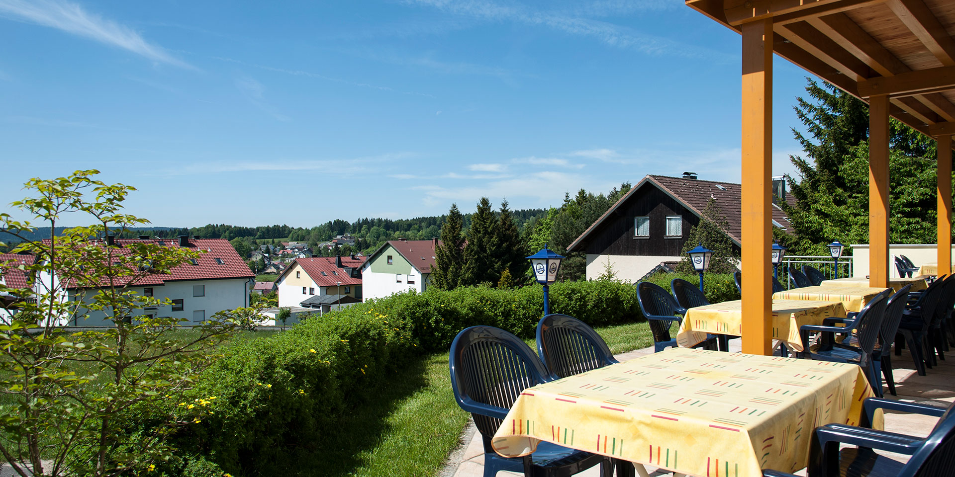 Terrasse Pension Nickl
